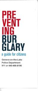 PREVENTING BURGLARY